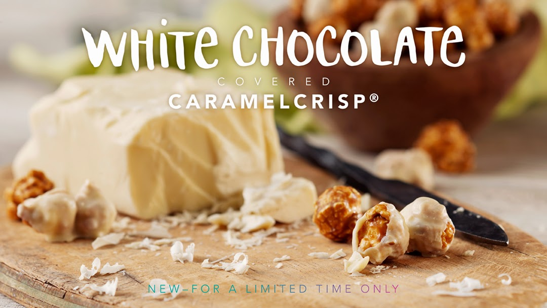 White Chocolate Covered CaramelCrisp