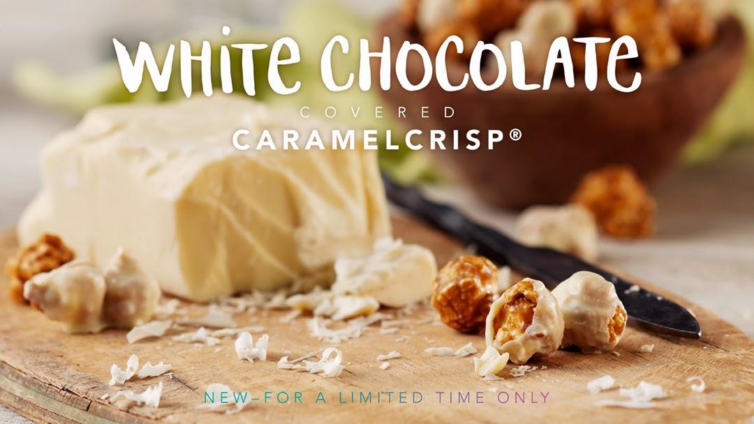 White Chocolate Covered CaramelCrisp