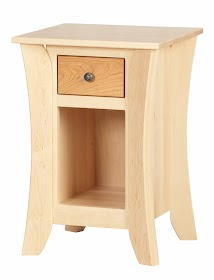 Kyoto Nightstand with Shelf