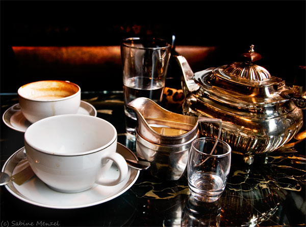 Psynopsis Tea at the Wolseley Hotel