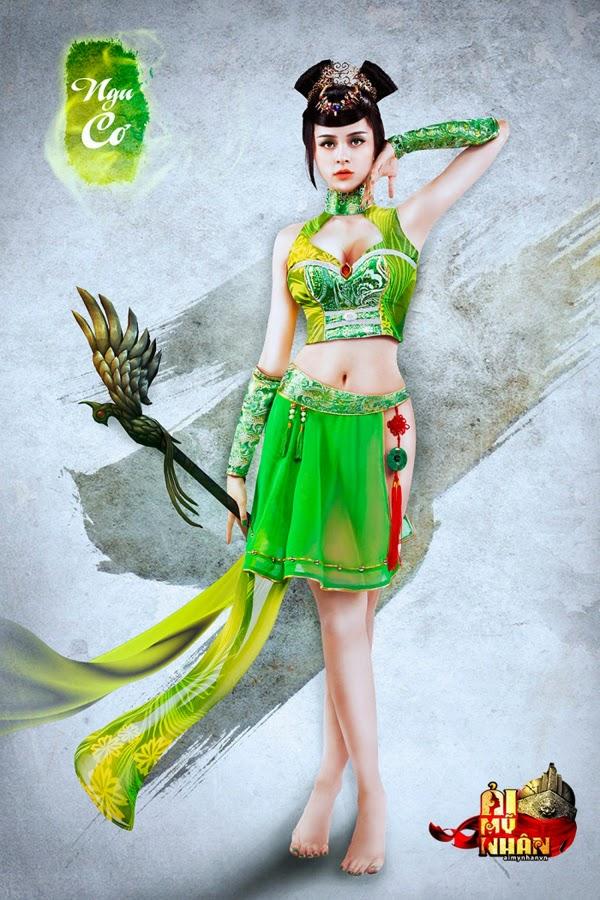 Ải Mỹ Nhân tung cosplay đón phiên bản Closed Beta 9