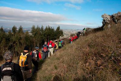 Caminhada de Fim de Ano - Cabeço de Montachique - 31/12/2011