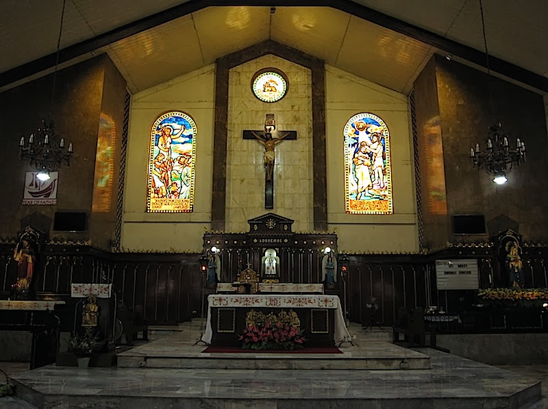 interior of St. John the Baptist Parish Church