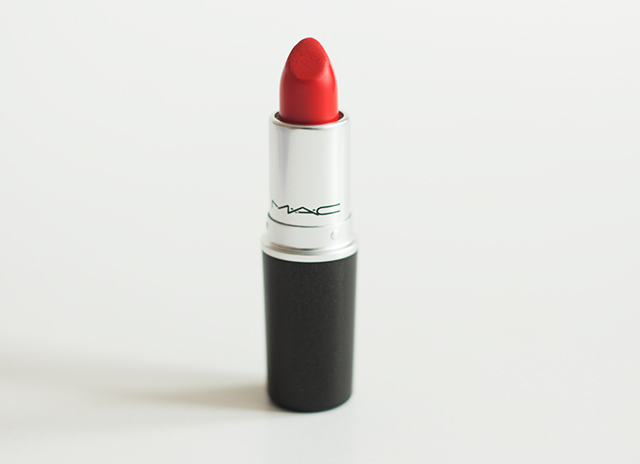 lady danger lipstick by MAC