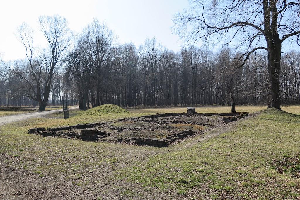 """Das """"weiße Haus"""" - Eine der ersten provisorischen Gaskammern"""