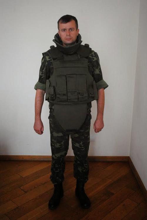 10-й батальон территориальной обороны Житомирщины наконец получил бронежилеты. ФОТО
