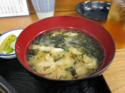 アオサの味噌汁