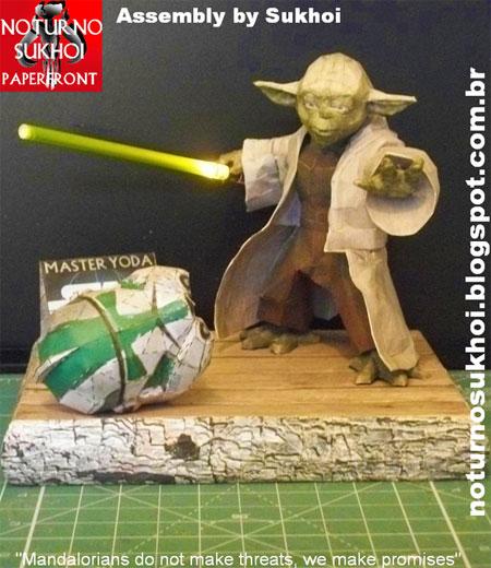 Jedi Master Yoda Papercraft