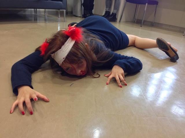 「中国人女性がメイクで足をロボットにした写真」が話題に。一方日本では中川翔子さんが…。