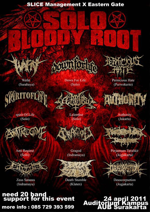 SOLO BLOODY ROOT