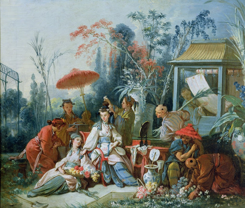 Francois Boucher - The Chinese Garden