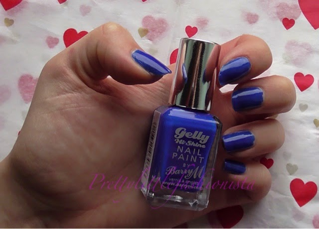 Barry M Gelly Hi Shine in Blue Grape