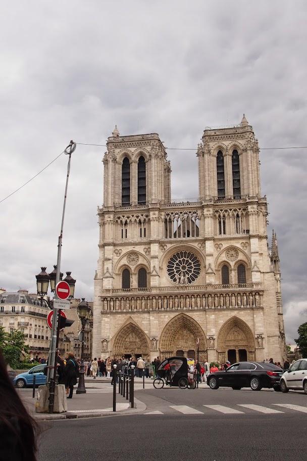フランスパリ観光 ノートルダム大聖堂
