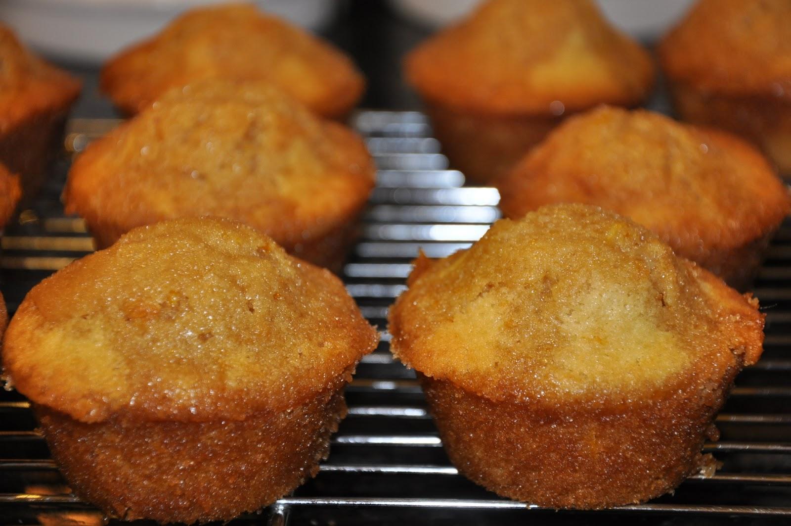 Elizabeth Ann's Recipe Box: Orange Mini Muffins with Brown Sugar Glaze