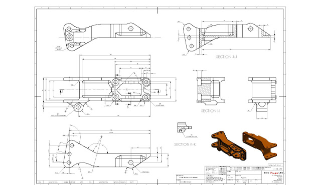 engineering drawing 2d draughting detailed drawing bms design ltd