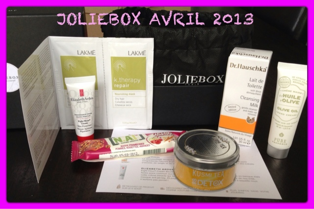 Les différentes versions de Joliebox Avril
