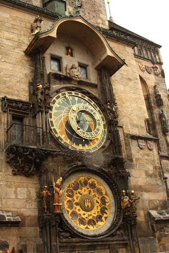 Prague Czech Republic city-break old town architecture engineering astronomical