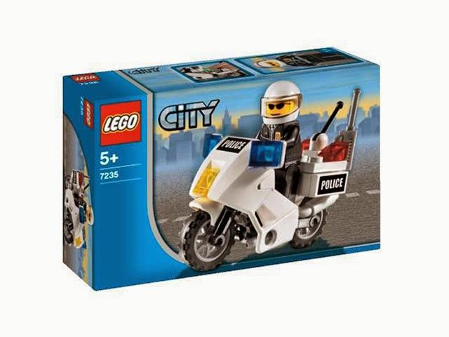 7235 レゴ シティ ポリス 白バイパトロール