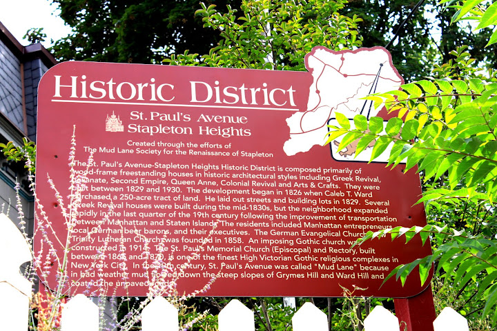 Stapleton Heights Historic District Sign