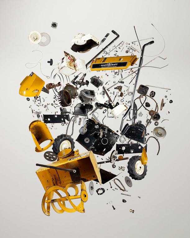 *拆解你的手機:藝術攝影師Todd Mclellan現代藝術攝影 Things Come Apart! 7
