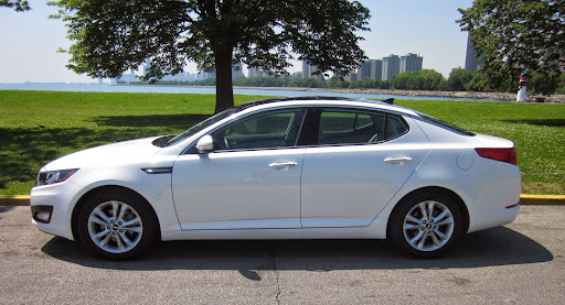 Syaiful Dev 2013 Kia Optima White Black Rims Cool