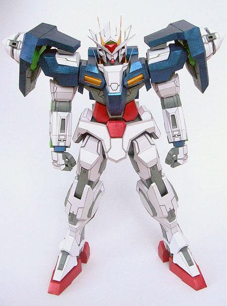 GN-0000 00 Gundam Papercraft