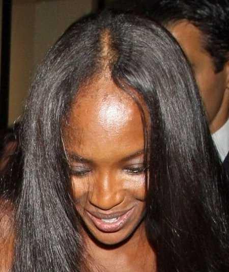 волосы наоми кэмпбелл выпадают