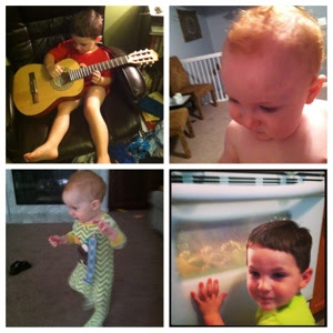 homeschool music, baby curls, 10 month old walking