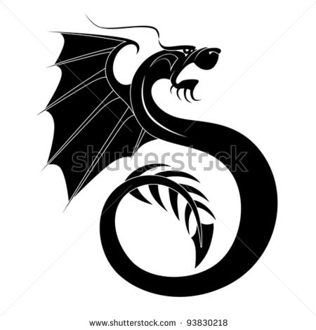 black dragon tattoo designs