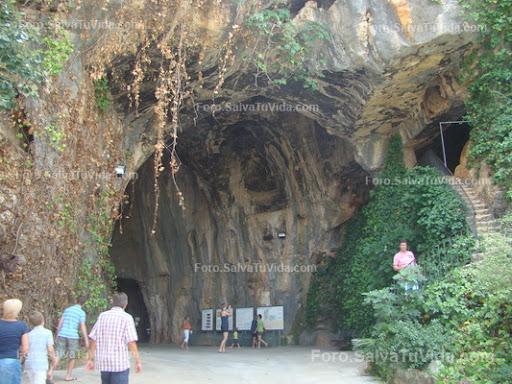 La cueva de las calaveras, Benidoleig, Alicante DSC05861