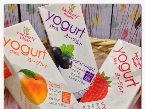 Heavenly Blush Yogurt Drink To Go, Yoghurt  yang Asam dan Manisnya pas