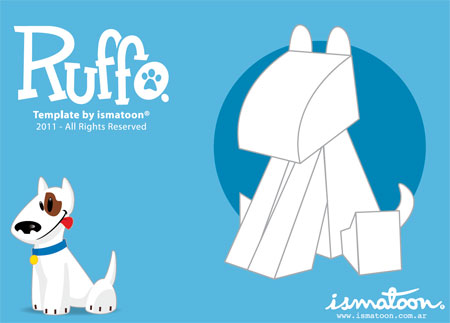 Ruffo Paper Toy