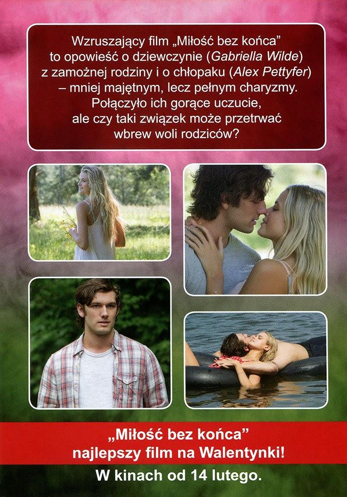 Ulotka filmu 'Miłość Bez Końca (tył)'