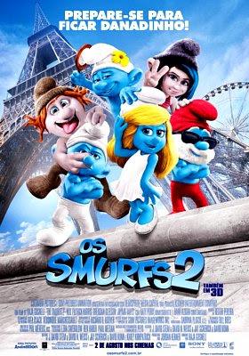 Filme Poster Os Smurfs 2 TS XviD & RMVB Dublado