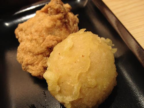 半熟玉子の天ぷら