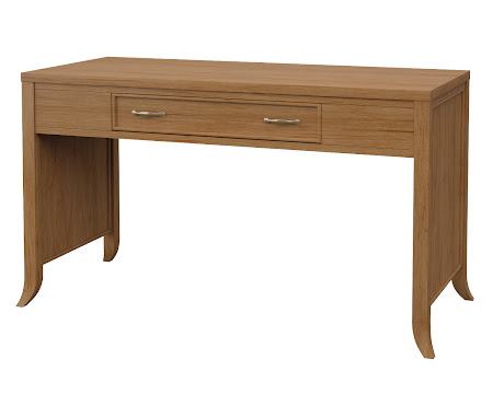 Strafford Writing Desk in Calhoun Maple
