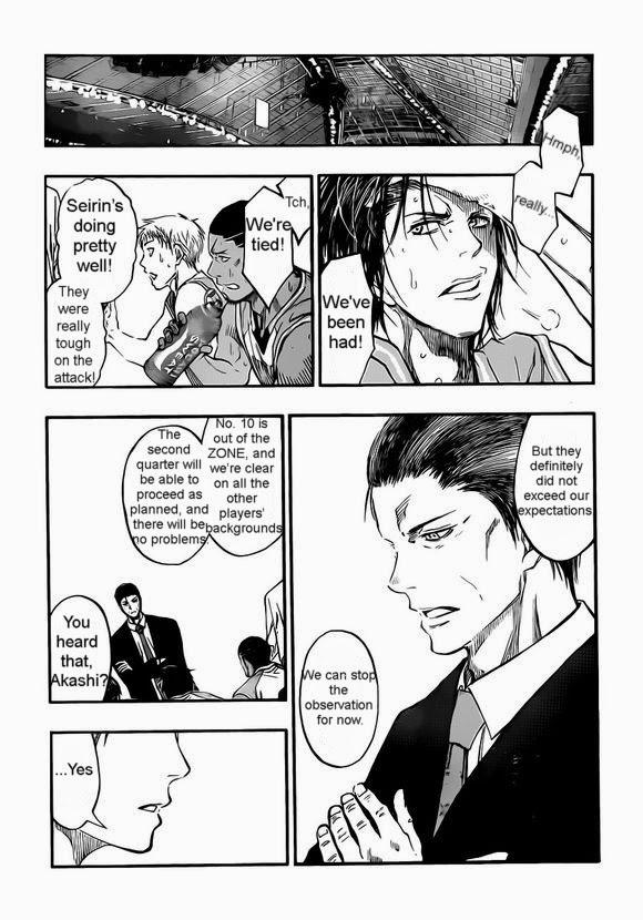 Kuroko no Basket Manga Chapter 238 - Image 07