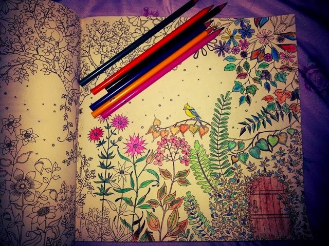 fotos do livro jardim secreto : fotos do livro jardim secreto:As imagens pintadas são de autores desconhecidos, mas se for sua