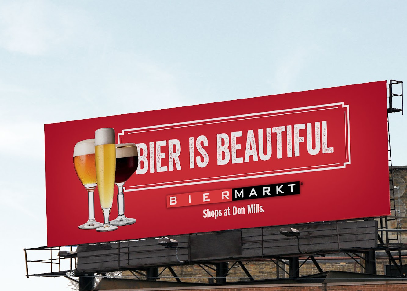 Toronto's Bier Markt Makes Beer Beautiful In BillBoards