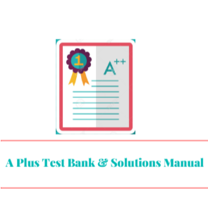 A plus test bank solutions manual google fandeluxe Choice Image