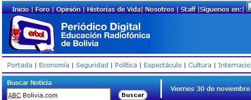 Medios de comunicación de Bolivia