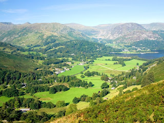Stunning view from the path to Boredale Hause - Jun 2006 Photo by Norman Jackson