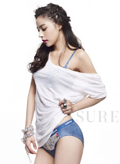Model, Min Hyo Rin