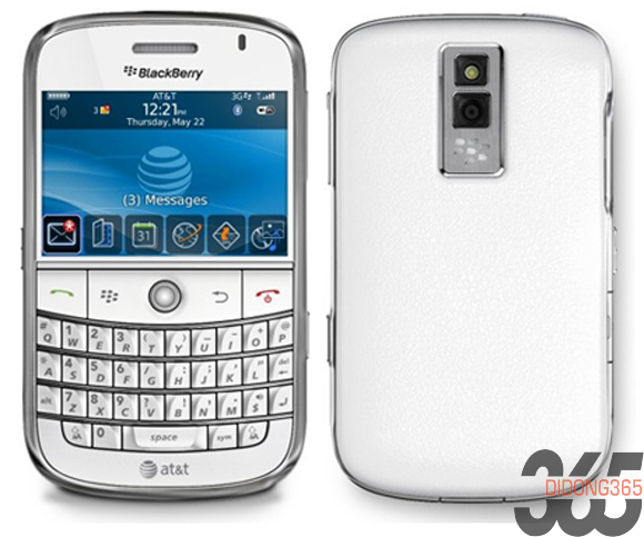 Blackberry 9000 white