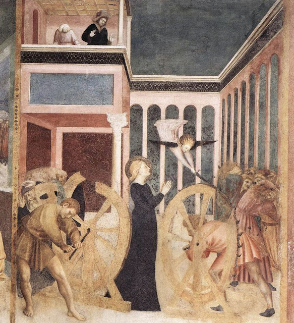 Masolino da Panicale - The Martyrdom of St Catherine