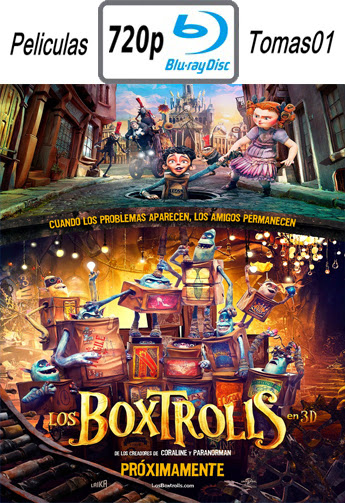 Los Boxtrolls (The Boxtrolls) (2014) BRRip 720p