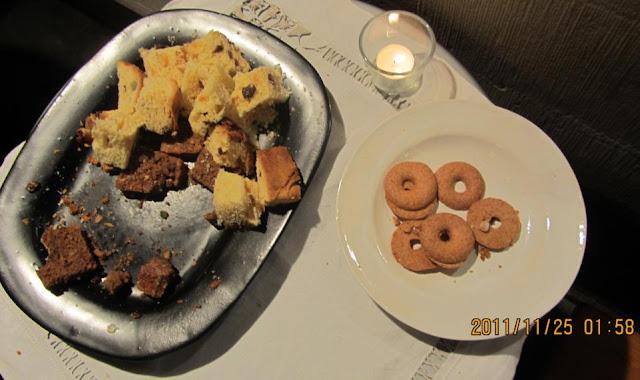 簡單的瑞士點心擺盤,恩,這攤是比較「吝嗇」一點的小攤。