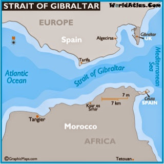 Smithy 39 s cruise blog the med - Moroccan port on the strait of gibraltar ...