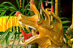Dragon statue from Wat Klong Prao, the temple