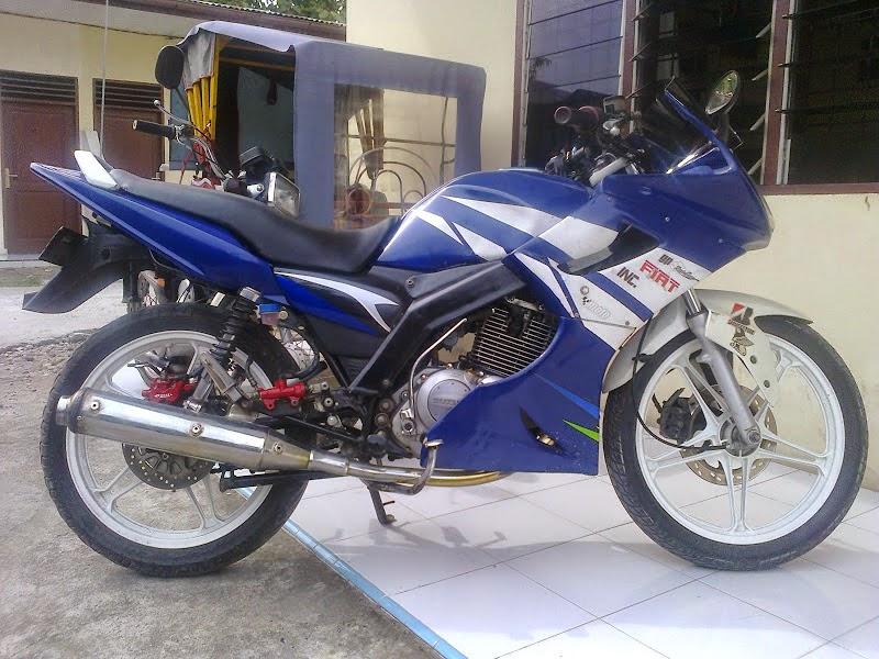 Suzuki Thunder Modifikasi Trail